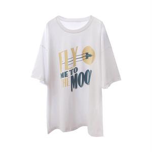 FlyMwToTheMoonTシャツ(2col)