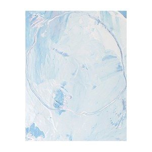 title: abstract painting (baby blue) tmap-006