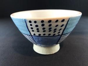 青 ICHIMATU 茶碗 (中)