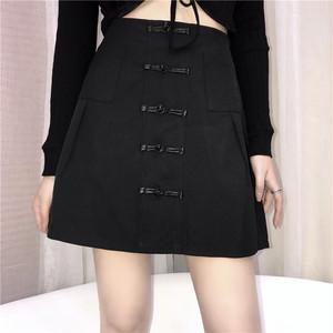 【ボトムス】ファッション定番夏Aライン膝上ミニスカート