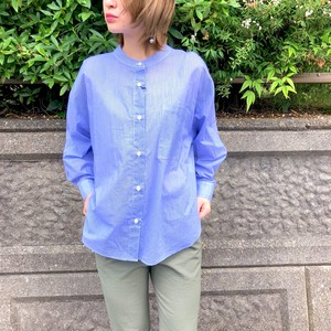 【 CHIGNONSTAR 】- 1101-368 - STRIPE BACKKNOT SHIRT