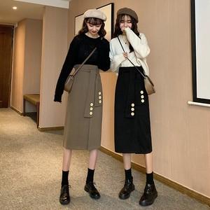 【ボトムス】韓国系ファッションデザイン着やせ見えスカート25552585