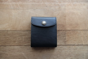 """Heritage"" Short Wallet ショートウォレット Black"