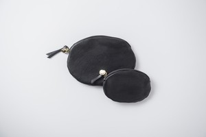 MUJI: coin case -14.(card case)black