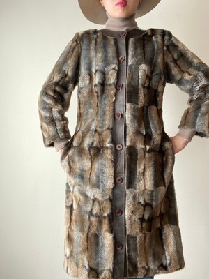 Eco Fur Design Coat