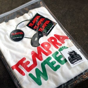 【TUMBLEWEED×tempracycle】 <TEMPRAWEED> T-Shirts PACKS