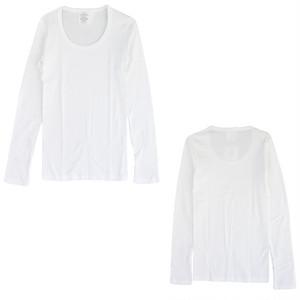 sirenemermaid(シレーヌマーメイド)スクープネック長袖Tシャツ(ロング丈) MWAB5009LLS