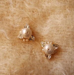 Cotton Pearl Pierce (WHITE)