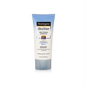 ニュートロジーナ ウルトラシアー ドライタッチ / Neutrogena Ultra Sheer Dry-Touch Sunblock SPF 50+ PA+++ 88ml