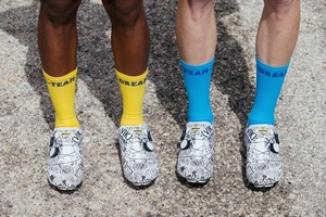 TEAM DREAM BICYCLING TEAM / Big Time Type Socks