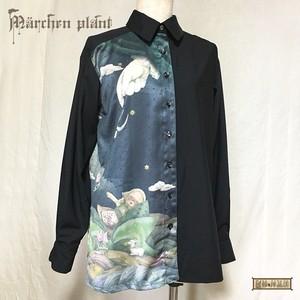 MärchenPlant バックプリントシャツ
