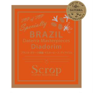 ブラジル ダテーラ農園 ディアドリム マスターピースオークションロット 中浅煎り (100g×10袋) 1Kg
