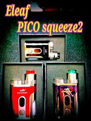 Eleaf pico squeeze2 スターターキット 電子タバコ