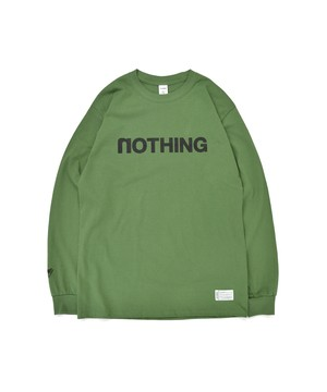 All of L/S Tee (noTHING) / MILITARY GREEN