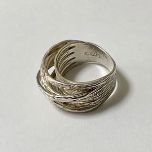 Vintage 925 Silver Design Ring Made In Israel