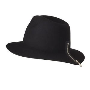ZIPPER HAT/navy