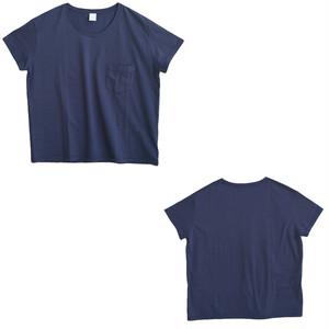 LAITERIE USコットン天竺ポケット半袖Tシャツ