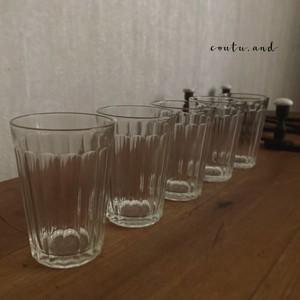 島田ガラスアンカーコップ5点