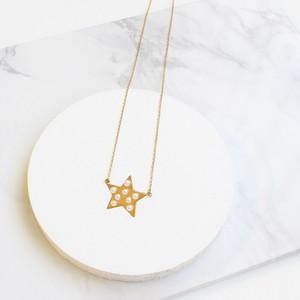 ■star pearl necklace■ スターパールネックレス