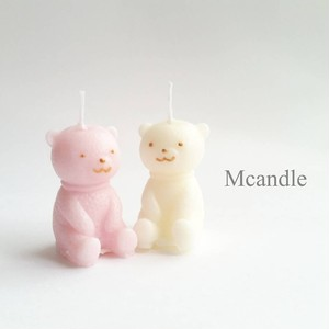 kuma candle くまちゃんキャンドルセット