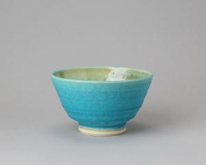 トルコ釉の飯椀 | 環窯