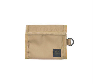 MIS-1034 FOLDING WALLET Packcloth_COYOTE TAN