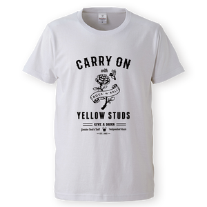 Tシャツ【キャリーオン ホワイト】