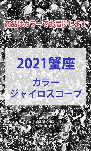 2021 蟹座(6/22-7/22)【カラージャイロスコープ】
