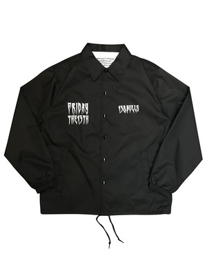 CLAW COACH JACKET [BLACK]