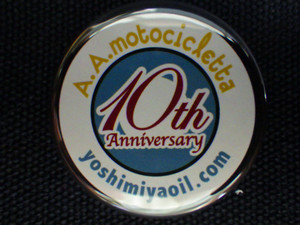10th Anniversary Badge/32ø #03