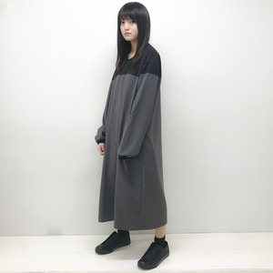 LONG ONE PIECE / GRAY×BLACK