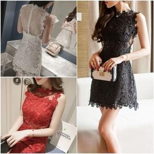 【即納・国内在庫】Short Dress td610