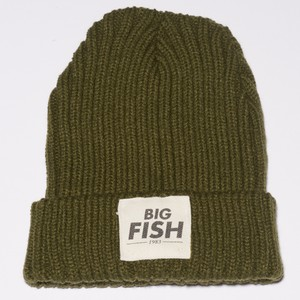 BONNET KHAKI LOGO BIG FISH 1983