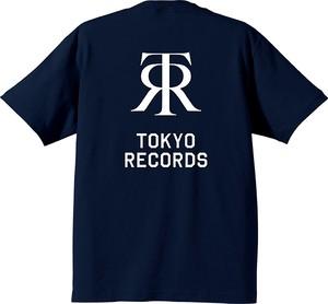 TOKYO RECORDS BP TEE (NAVY x WHT)