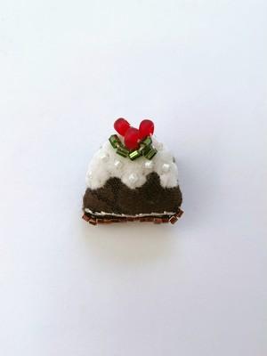 MONMANNEQUIN   ミニチュア クリスマスプディング ブローチ