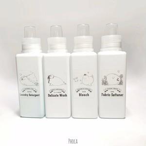 耐水性 あざらしのお洗濯ボトルラベル 4種セット