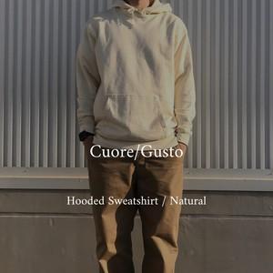 Cuore/Gusto Original Hooded Sweatshirt / Natural