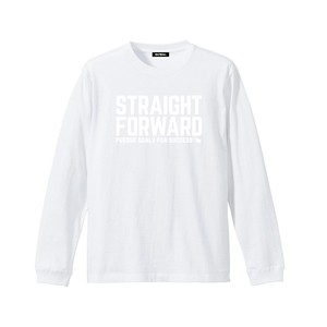 Nible Straight Forward Logo Long Sleeve Shirt