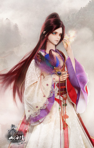 70cm 中華古風衣装「鳳凰」