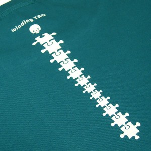 背骨ピースTシャツ[制作終了]