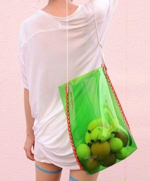 """proef """"PVC shoulder bag""""[green]"""