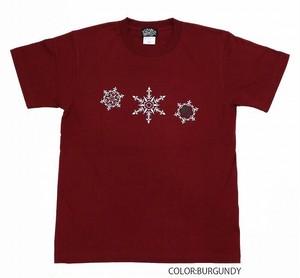 Flutter T-shirts Burgundy T-01