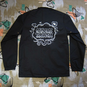 "Cycle Trash Windbreaker Coaches Jacket ""Fart"""