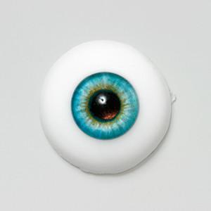 Silicone eye - 19mm Indigo Blue Eclipse