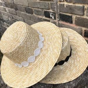 【再入荷】サークルレースカンカン帽