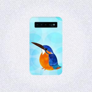 水辺のカワセミ モバイルバッテリー(本体のみ)