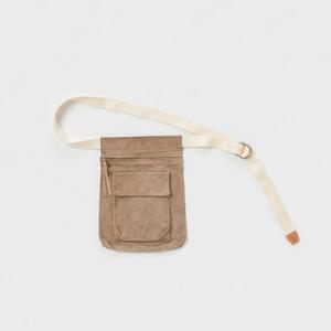 Hender Scheme 【エンダースキーマ】 waist belt bag  (BEIGE)