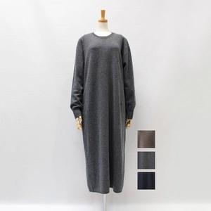 [SALE] Emmaculate(エマキュレート) ポケット付きロングワンピース 2020秋冬新作[送料無料]