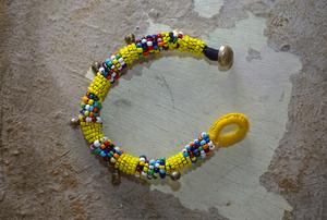 Ladies' / Yellow beads bracelet
