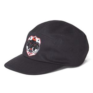[ 坩堝 ] ELEPHANT 5PANEL CAP